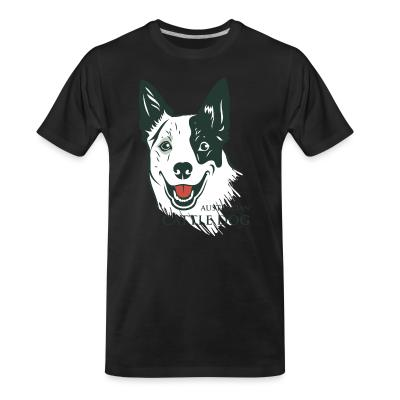 Organic T-shirt Australian Cattle Dog
