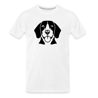 Organic T-shirt Beagle Dog