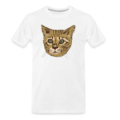 Organic T-shirt Bengal Cat