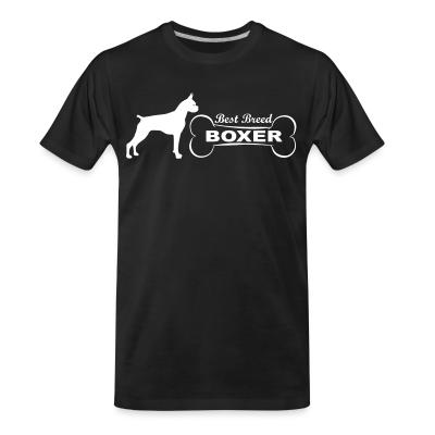 Organic T-shirt best breed boxer