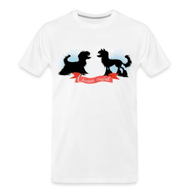 Organic T-shirt Chinese Crested