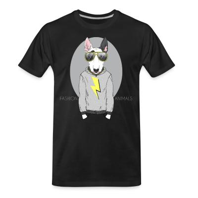 Organic T-shirt Fashion animals
