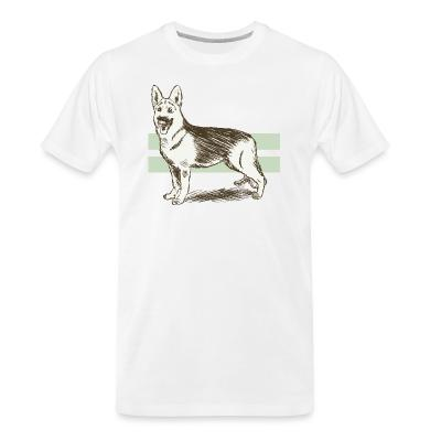 Organic T-shirt German Shepherd Dog