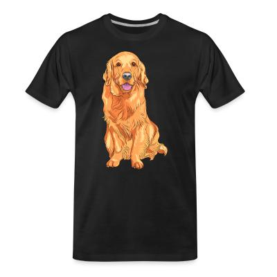 Organic T-shirt Golden Retriever