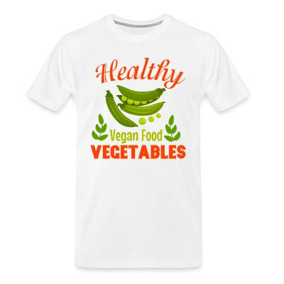 Organic T-shirt Healthy vegetable vegan food