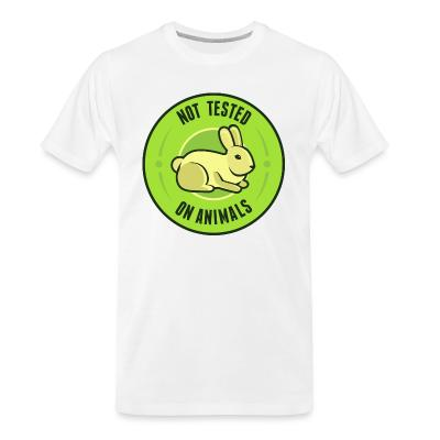 Organic T-shirt Not tested on animals