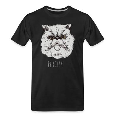 Organic T-shirt Persian Cat