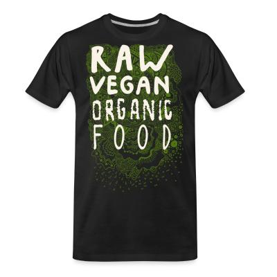 Raw vegan organic food