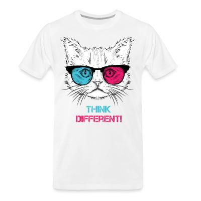 Organic T-shirt Think differenti