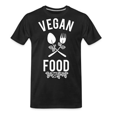Organic T-shirt Vegan food