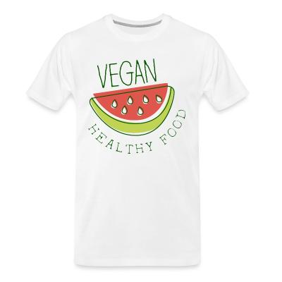 Organic T-shirt Vegan healthy food