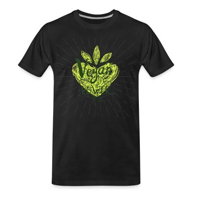 Organic T-shirt Vegan power