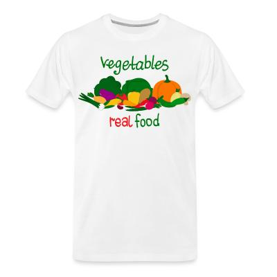 Organic T-shirt vegetable real food