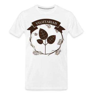 Organic T-shirt Vegetarian