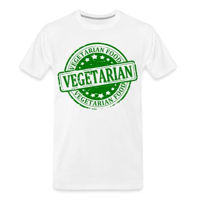 Organic T-shirt Vegetarian food