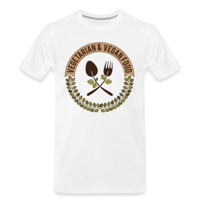 Organic T-shirt Vegetarian & Vegan food