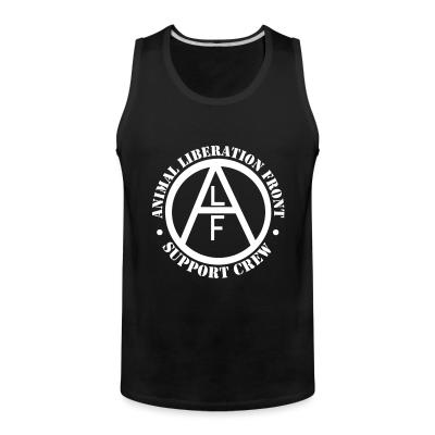 Tank top ALF Animal Liberation Front support crew