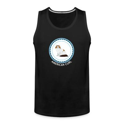 Tank top American Curl Cat