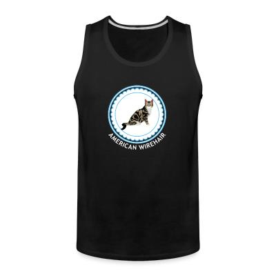 Tank top American Wirehair Cat