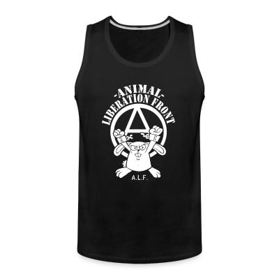 Tank top Animal liberation front A.L.F.