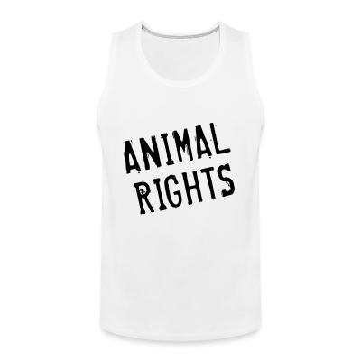 Tank top Animal rights