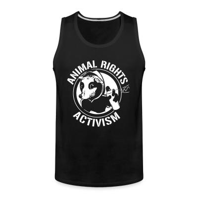 Tank top Animal rights activism
