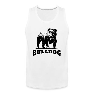Tank top bulldog