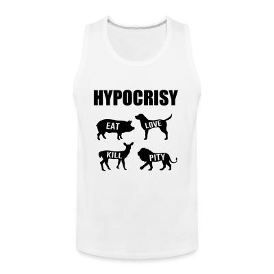 Tank top Carnist Hypocrisy