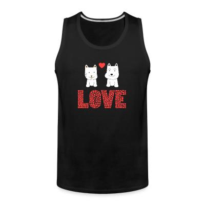 Tank top Cat and Dog