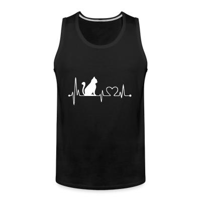 Tank top Cat heartbeat