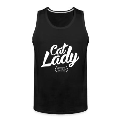 Tank top Cat lady official certified