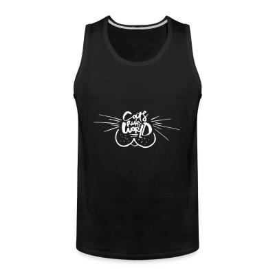 Tank top Cats rule the world
