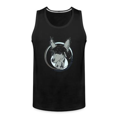 Tank top Chinese Crested Dog