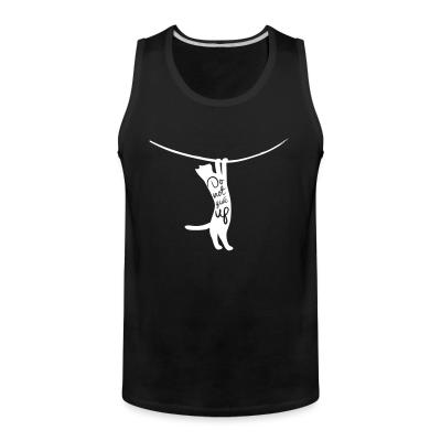 Tank top Do not give up