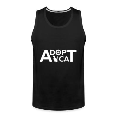 Tank top dopt cat