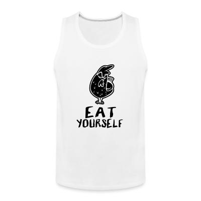Tank top eat yourself