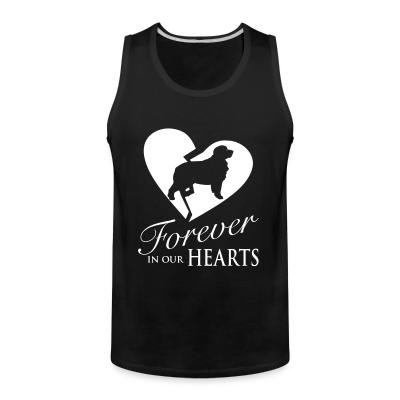 Tank top Forever in our hearts