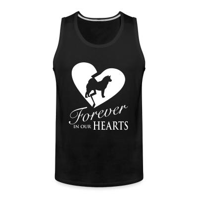 Tank top Forever in your hearts