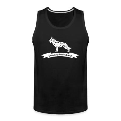 Tank top German Shepherd Dog