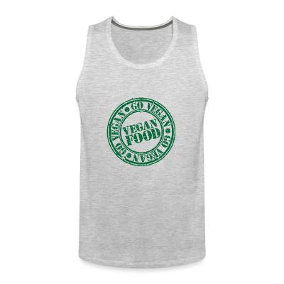 Tank top go Vegan  Vegan  food