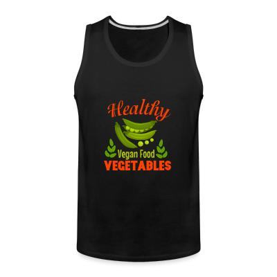 Tank top Healthy vegetable vegan food