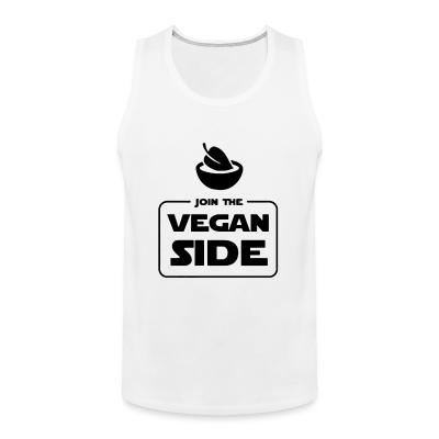 Tank top Join the vegan side