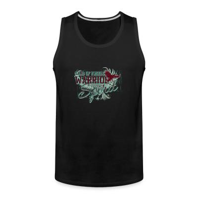 Tank top Land of freedom Warrior spirit
