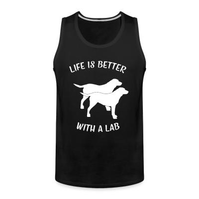 Tank top life is better with a lab