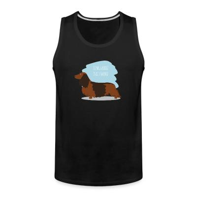 Tank top Longhaired Dachshund