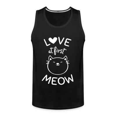 Tank top Love at first meow