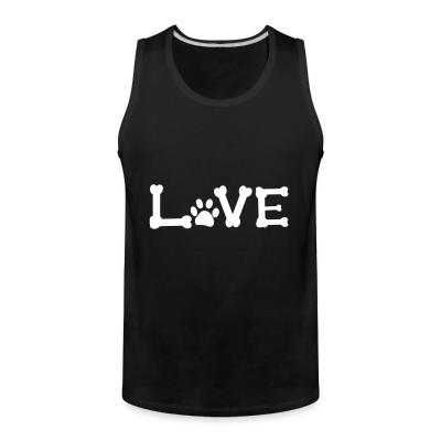 Tank top Love paw