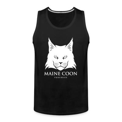 Tank top Maine Coon Cat