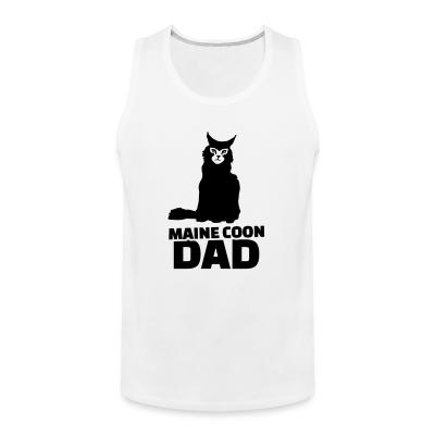 Tank top Maine Coon dad