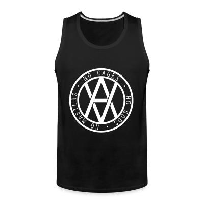 Tank top No cages - no gods - no masters